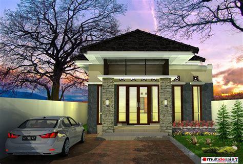 desain rumah tak depan sing belakang desain rumah tinggal minimalis bpk hamim multidesain arsitek
