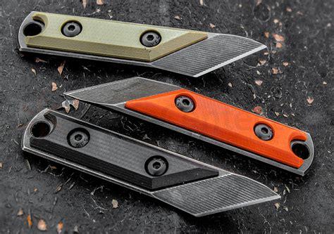 Cold Steel Kitchen Knives Nick Chuprin Custom Edc Kiridashi Fixed 1 Quot O 1 Tool Steel