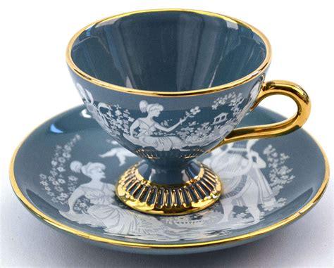 Fiori Coffee Set italian fiorentine tea set at 1stdibs