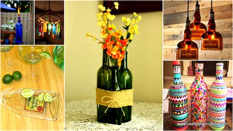glass bottle craft projects 23 fascinating ways to reuse glass bottles into diy