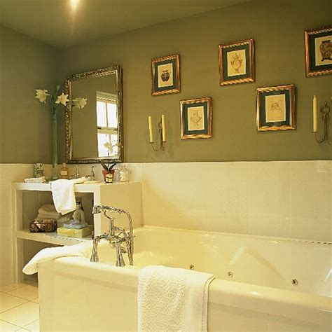 olive green bathroom luxury bathroom in traditional greens housetohome co uk