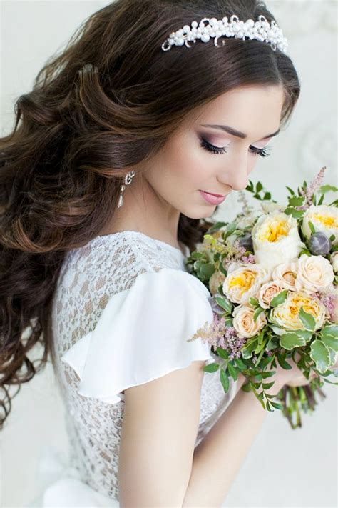 Wedding Hair For Tiaras by Wedding Hairstyles For Hair