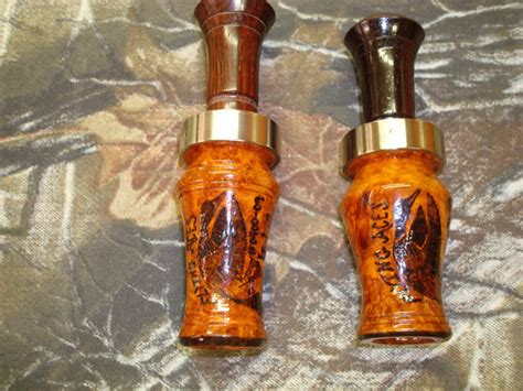 Handmade Duck Calls - flying aces custom duck goose calls