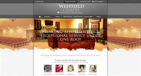 20 Stand Out Funeral Home Website Designs From 2015 That Funeral Home Website Design