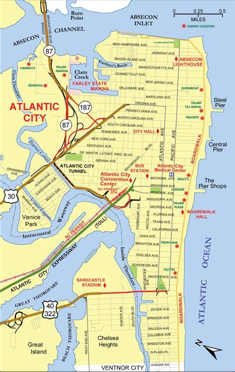 atlantic city map atlantic city map map3