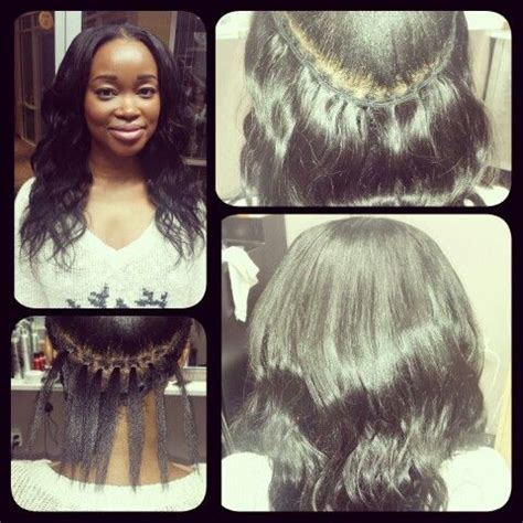 braidless sew in weave nj malaysian braidless sew in extensions hair is what i do