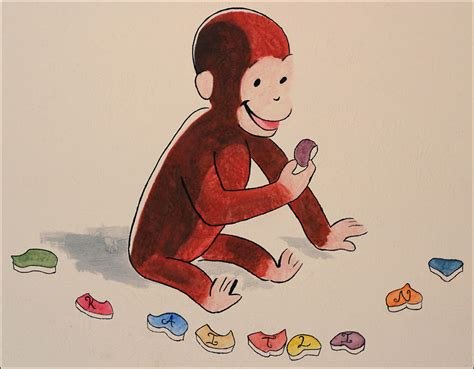 painting curious george curious george murals of chris getteau