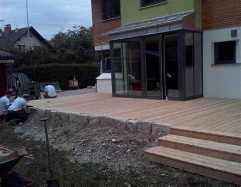 Terrasse Mit Stufen by Holzterrasse Mit Stufen Dp44 Hitoiro