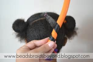 flexi rod stretch 4b c hair beads braids and beyond little girls natural hairstyle
