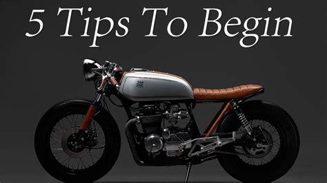 design indaba cafe racer cafe racer 5 tips to begin your cafe racer design youtube