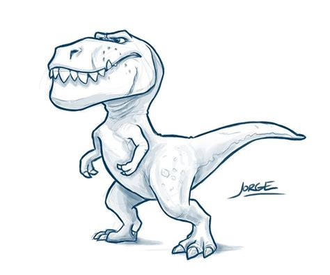 Drawing T Rex by Simple T Rex Drawing At Getdrawings Free For