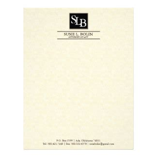 attorney letterhead templates free attorney at letterhead zazzle
