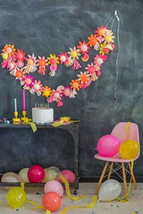 Girlande Selber Machen by Blumen Selber Basteln 55 Ideen F 252 R Kinder Und Erwachsene