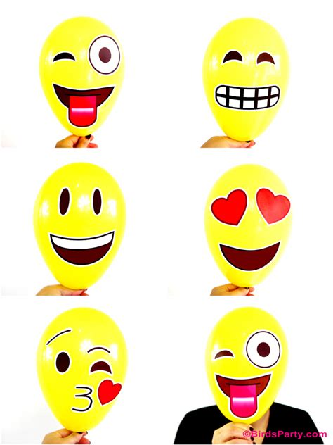 celebration emoji awesome diy emoji party ideas