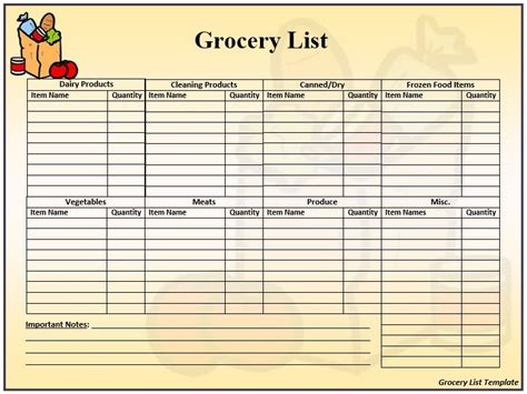 printable grocery list with prices 10 free sle wholesale price list templates printable