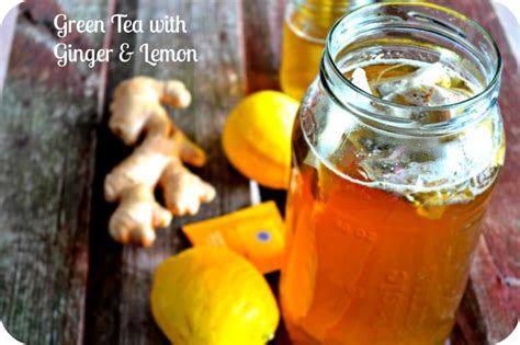 Liquid Gold Detox Drink by Green Tea With Lemon For Weight Loss Recipe