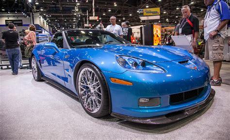 corvette zr1 blue car and driver