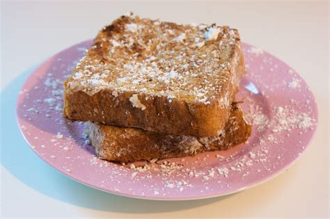 chagne toast the sugartarian tropical fench toast