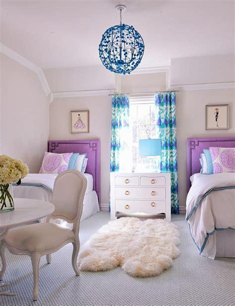 stylish girls bedrooms teenage girl double bed ideas