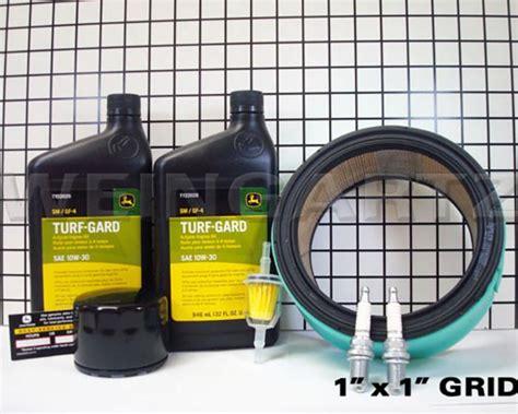 deere parts home maintenance kit for model lg199