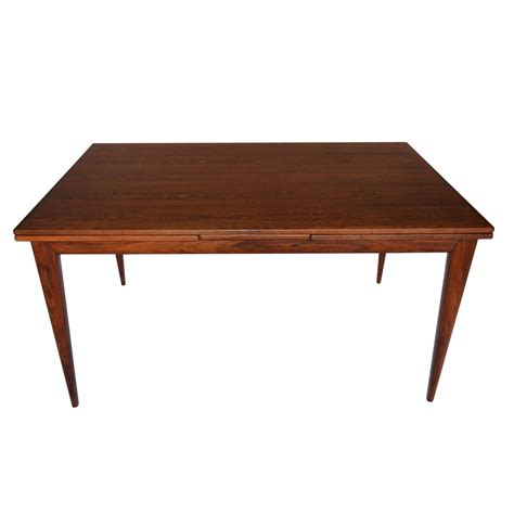 No Dining Table Niels Otto Moller Rosewood Dining Table Model No 12 For Sale At 1stdibs