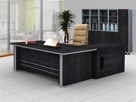 black executive office desk modern executive office design for elegance office