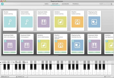 keyboard tutorial software playground sessions piano lesson software review the
