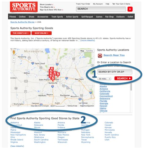 designing business location website pages part 3 mass