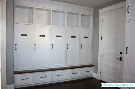 Entryway Locker Plans My New Organized Mudroom The Sunny Side Up Blog
