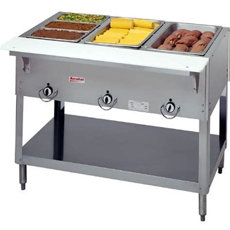 Electric Steam Table by Duke E303 3 Well Electric Food Warmer Steam Table