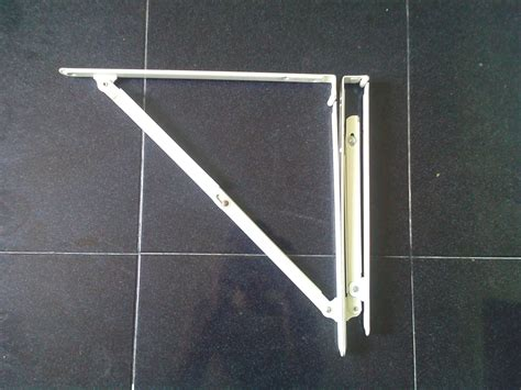 Siku Lipat Ambalan Besi Lipat Folding Shelf Brackets Diskon 1 harga siku rak lipat soligen 40 cm di kab bekasi jawa