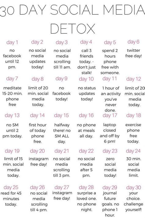 Phone Detox Challenge by 272 Best Random Images On February Month