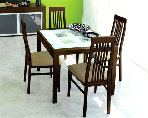 Glass Top Dining Table Set by Expandable Dining Set W Frosted Glass Top Table