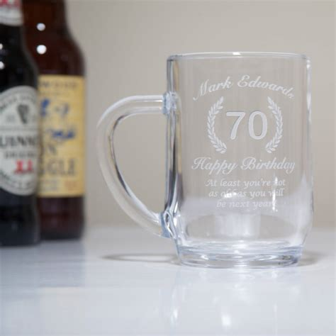 Engraved Th  Ee  Birthday Ee   Gltankard In Box By