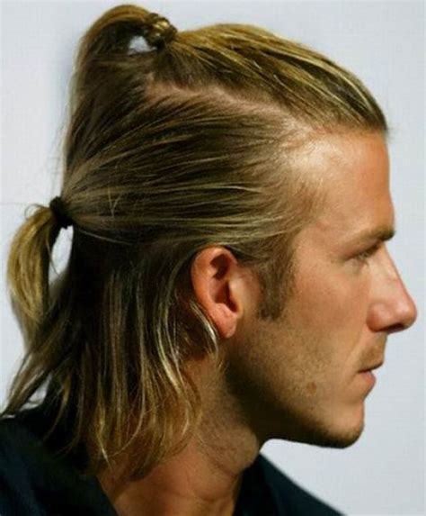 what hair colour is used by david beckham david beckham men long hair pinterest