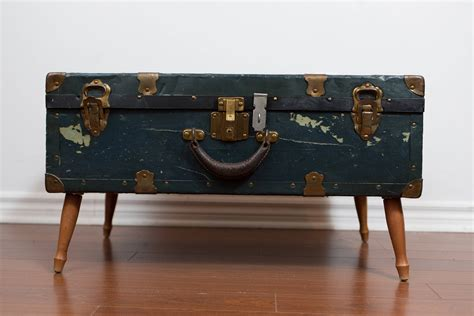 2 clever modern rustic upcycled designs my warehouse home chest coffee table rustic trunk on legs unique end table
