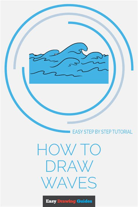 how to draw waves really easy drawing tutorial how to draw waves really easy drawing tutorial