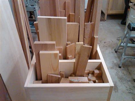 scrap lumber  cutoff sorting cart  vincent nocito