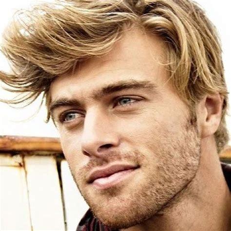 blonde hairstyles  men  guide grimr