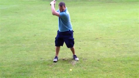 golf swing funny incredible golf swing too funny youtube