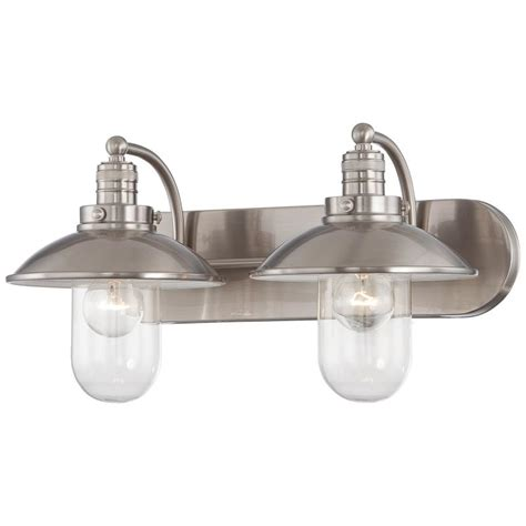 minka lavery bathroom lighting fixtures minka lavery 5132 84 brushed nickel 2 light bathroom
