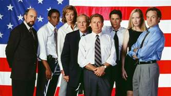 west wing west wing cast reunites reveals who president bartlet would endorse in 2016 today com