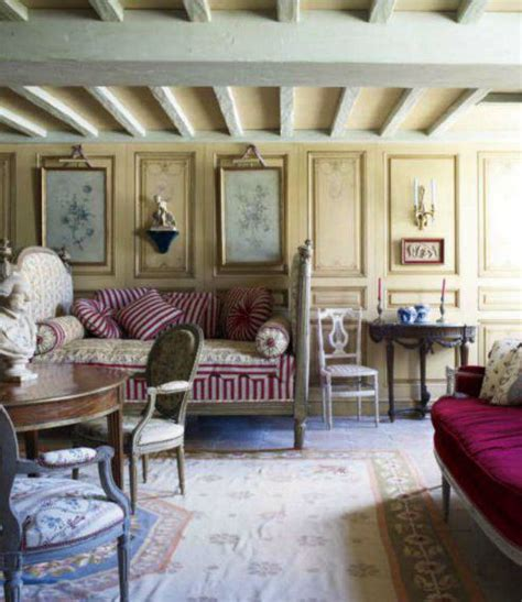 rustic country living room from cote sud home decor