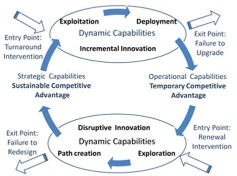 Capabilities Mba by The Dynamic Capabilities Lifecycle 2 Vital Links In The