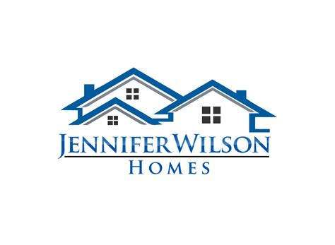 real estate logos search logo design