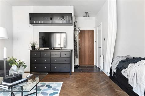 ikea klein klein eenkamerappartement 35m2 in ikea style huis
