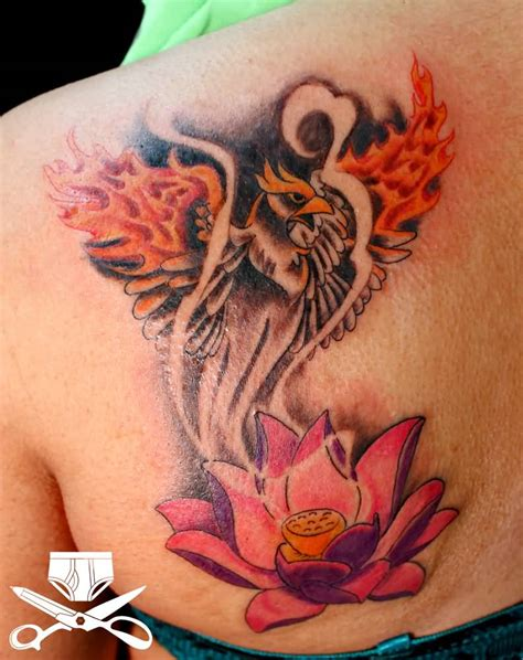 tattoo phoenix lotus lotus tattoo ideas and lotus tattoo designs page 9