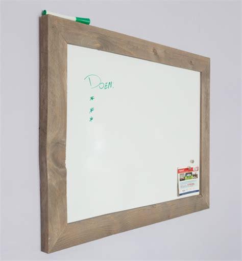 modern whiteboard modern whiteboard 60x80 cm met grijze steigerhouten lijst