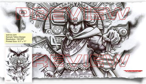 mayan tribal tattoo designs mayan warrior aztec tattoos aztec mayan inca
