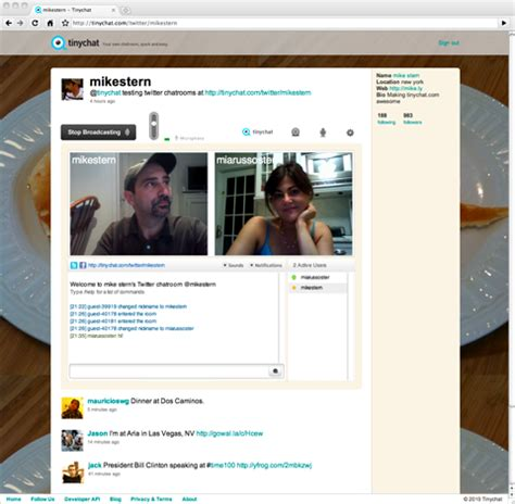 chat room tinychat tinychat launches chatrooms techcrunch